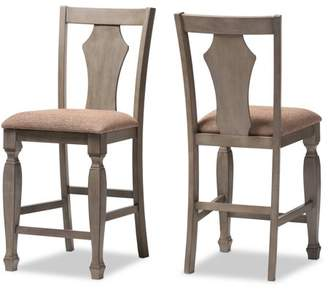Upholstered Counter Stools Shopstyle