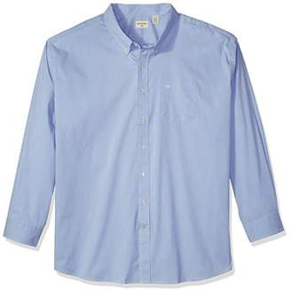 Dockers Big and Tall Long Sleeve No Wrinkle Stretch Button-Front Shirt