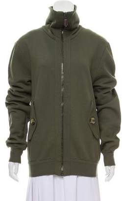 Burberry Hooded Zipped Jacket