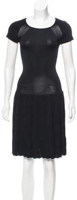 Reiss Knit Knee-Length Dress