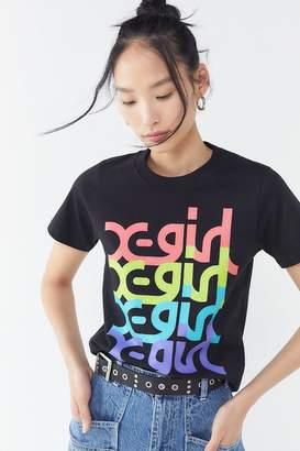 X-girl Colorful Logo Short Sleeve Tee