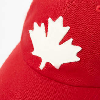 Roots Canada Leaf Baseball Cap