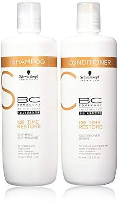 Schwarzkopf BC Bonacure TIME RESTORE Shampoo and Conditioner Set