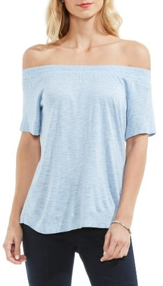 Women's Two By Vince Camuto Off The Shoulder Tee $69 thestylecure.com