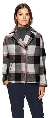 Armani Jeans Women's Lana Poly Jacquard Check Jacket