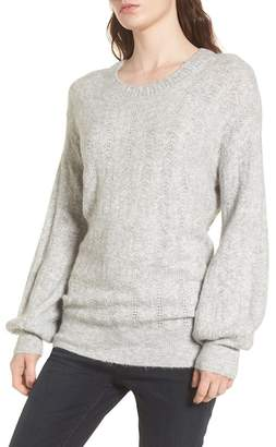 Hinge Open Back Sweater