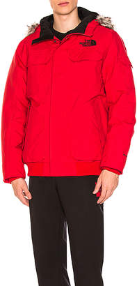The North Face Gotham Jacket III With Faux Fur Trim