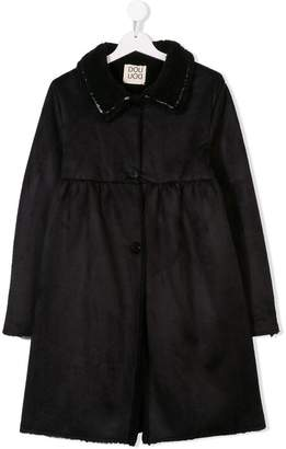 Douuod Kids single breasted coat