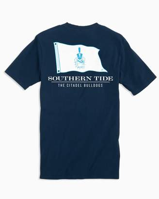 Southern Tide Gameday Nautical Flags T-shirt - The Citadel