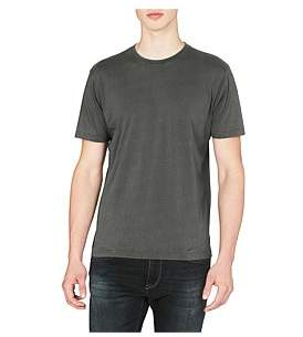 Mavi Jeans Liam Printed Snow Washed Ss T-Shirt
