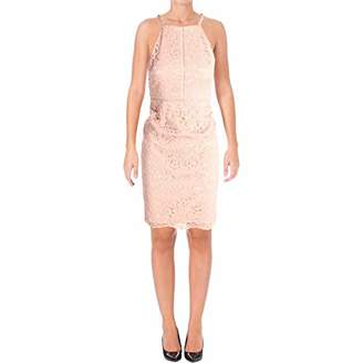 Vince Camuto Women's Lace Halter Bodycon Dress