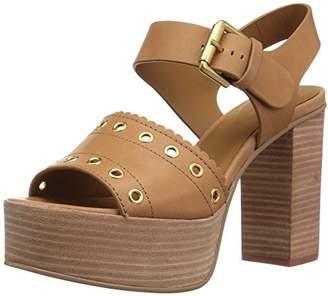 731ac737a9e4 See by Chloe Women s Nora Platform Heeled Sandal 39 M EU (9 ...