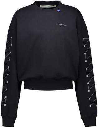 Off-White Off White Diag Backbone Over Sweatshirt