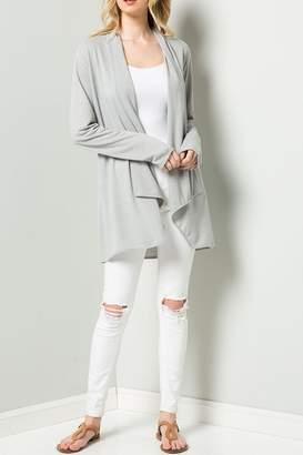 Ee:Some Lite Grey Cardigan