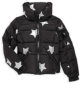 601c05d21 Girl's Star Freestyle Quilted Down Jacket