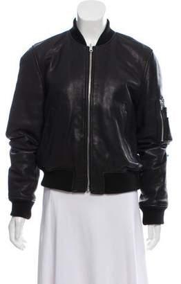 Alexander Wang Leather Zippered Jacket