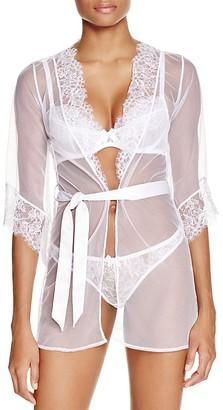 L'Agent by Agent Provocateur Idalia Short Robe $198 thestylecure.com