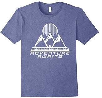 Adventure Awaits Mountain Scene T-shirt