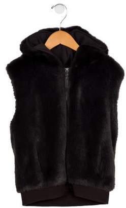 Imoga Girls' Fatima Hooded Vest