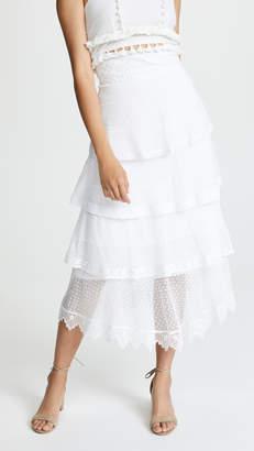 Place Nationale La Baronne High Waist Midi Skirt