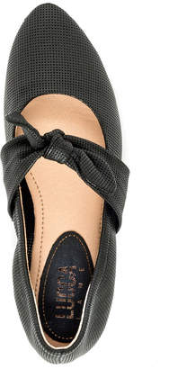Lucca Lane Ursula Perforated Flats Women's Shoes
