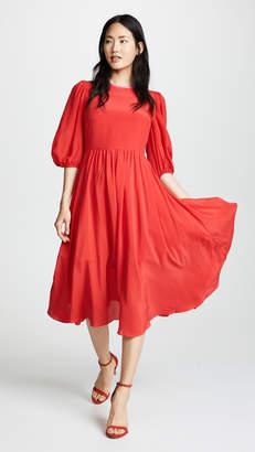Anna October Puff Sleeve Dress
