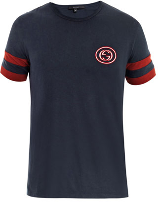 Gucci Banded arm T-shirt