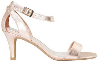 Amalfi by Rangoni Rose Gold Metallic Sandal