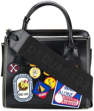 DSQUARED2 scout badge shoulder bag