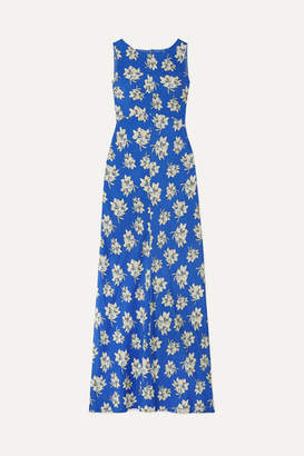 By Malene Birger Floral-print Crepe De Chine Maxi Dress