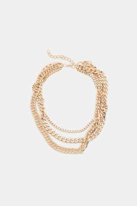 Ardene Heavy Layered Chain Necklace