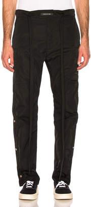 Fear Of God Nylon Cargo Pant in Black   FWRD