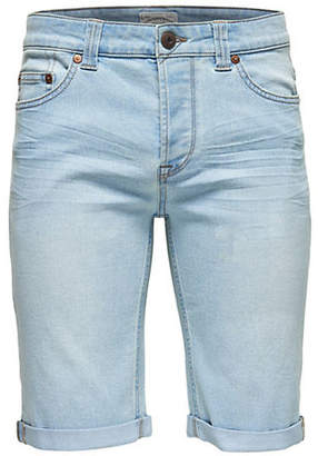 ONLY & SONS Cuffed Denim Shorts