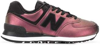 New Balance 574 metallic sneakers
