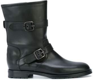 Manolo Blahnik buckle detail ankle boots