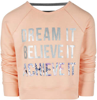 Ideology Toddler Girls Dream-Print Sweatshirt