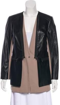 Robert Rodriguez Leather & Twill Jacket
