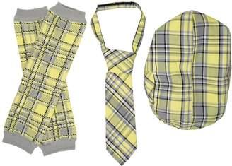 juDanzy Hat, Tie & Leg Warmer Set for Baby & Toddler Boys