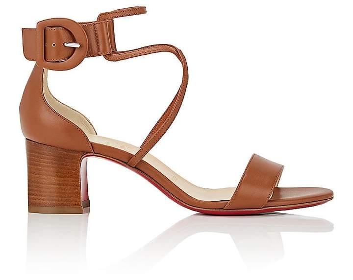Christian Louboutin Women's Choca Ankle-Strap Sandals
