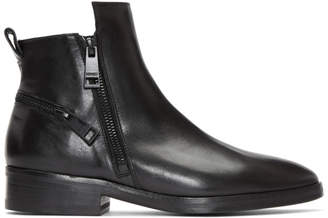 Kenzo Black Totem Boots