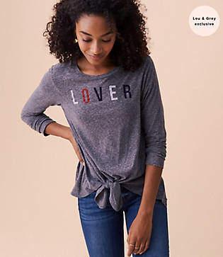 Lou & Grey Sundry Lover Knit Tee