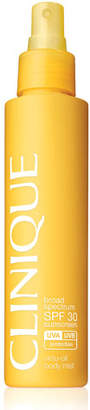 Clinique Broad Spectrum SPF 30 Sunscreen Virtu-Oil Body Mist, 5 oz.