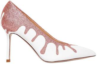 Katy Perry 90mm Cecilia Glitter Leather Pumps