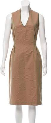 Lela Rose Sleeveless A-Line Dress