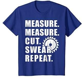 Measure Cut Swear Handyman T-Shirt