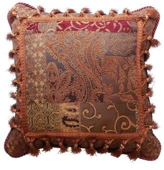 Croscill Home Fashions Galleria Fashion Polyester Throw Pillow Home Fashions