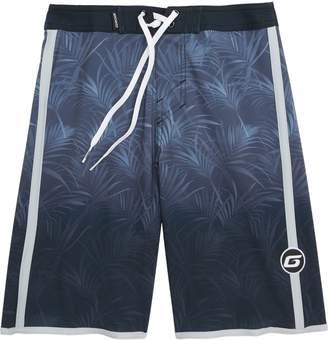 Grom Palm Fade Board Shorts