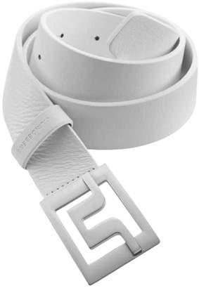 J. Lindeberg Men's Golf Belts (Slater 40 Pro Leather Belt, Slater 40 White Leather Belt, Slater White Leather, Carter Brushed Leather Belt)