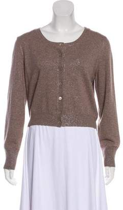 Fabiana Filippi Merino Wool & Silk-Blend Long Sleeve Cardigan