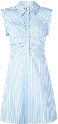 Veronica Beard striped shirt dress